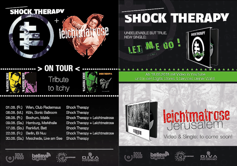 Shock Therapy Leichtmatrose Tour 2018 Flyer Plakat